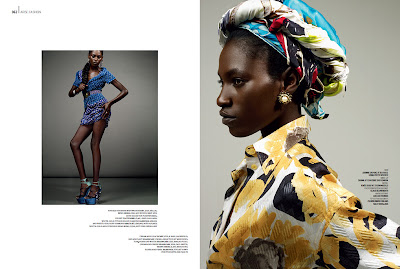 Kinee Diouf en couv' d'Arise