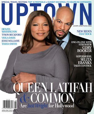 >Queen Latifah & Common en couv'd'Uptown