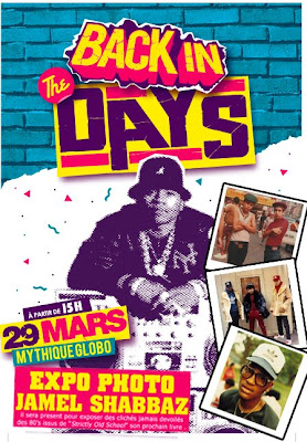 BACK IN THE DAYS: 29 MARS AU GLOBO