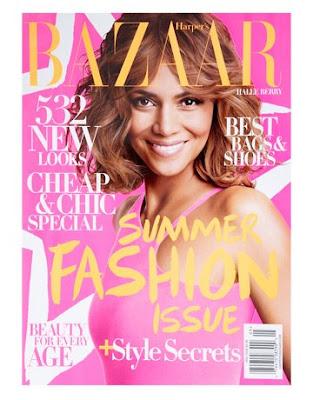 Halle B. pour Harper's Bazaar Magazine