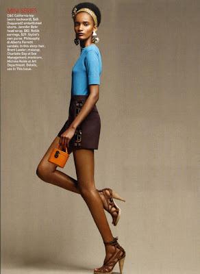 Rose Cordero dans Teen Vogue