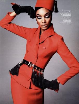 Jourdan Dunn pour Russia Vogue