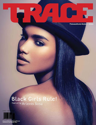 front_cover_issue85 Arlenis Sosa Peña en  Couv' Trace Magazine