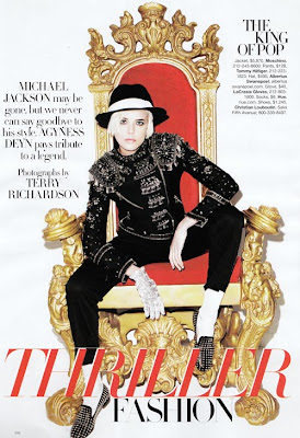 HARPER'S BAZAAR : THRILLER FASHION