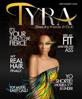 Tyra Banks lance son 1er magazine Online
