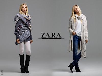 Lookbook  automne 2009 Zara: I'm a Zara Girl