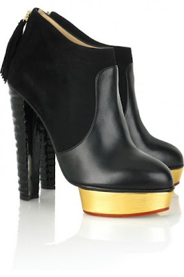 Hot Shoes du jour : Boots Charlotte Olympia Ziggy
