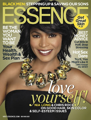 Nia Long en couv' d'Essence Magazine