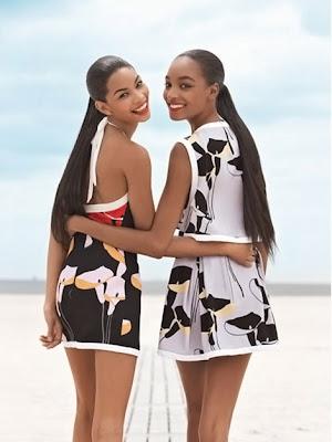 17bdfeea Chanel Iman & Jourdan Dunn pour Teen Vogue