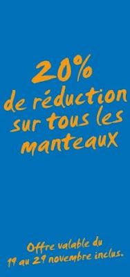 Bon Plan Shopping : H&M – 20% de réduction sur tous les manteaux
