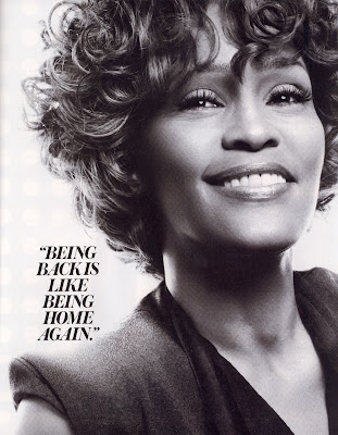 Whitney Houston en couv' d'InStyle Magazine