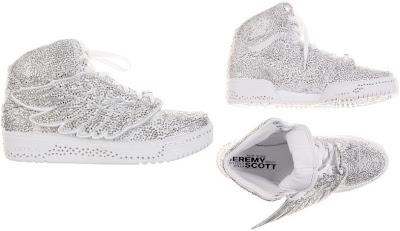 Swarovski x Adidas Jeremy Scott Wing Crystal Sneakers