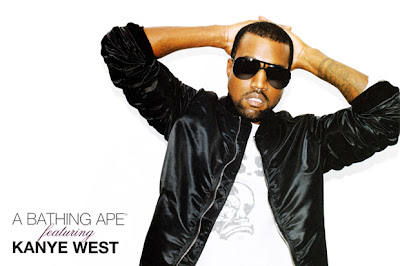 Lookbook  Printemps 2010 – Kanye West  for A Bathing Ape