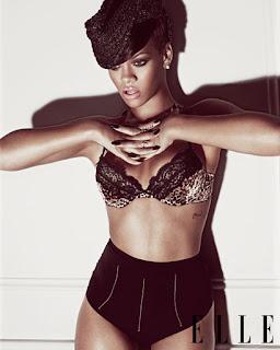 >Rihanna en couv' du mag Elle