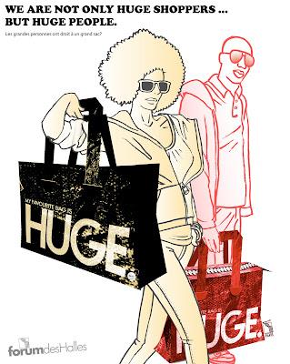 >Huge Bag | Parcequ'on les aime Grands, Beaux et Forts!