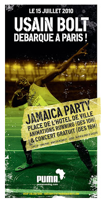 "Usain Bolt & Puma vous invitent à la ""Jamaica Party"""