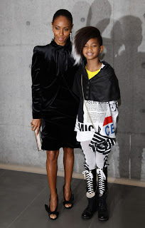 Willow Smith, star de la Fashion Week de Milan