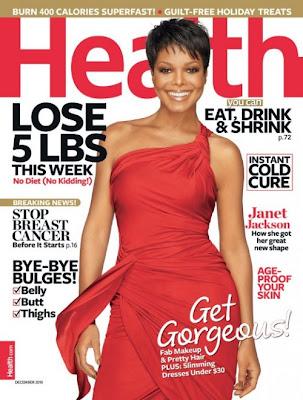 >Janet en couv' d'Health Magazine