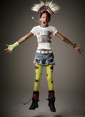 Willow Smith photoshoot pour Vanity Fair