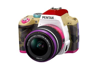 pentax >K-r Bonnie P de Pentax, le reflex 100% Fashion Geek