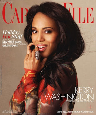 kw1 >Kerry Washington en couv' de Capitol File Magazine