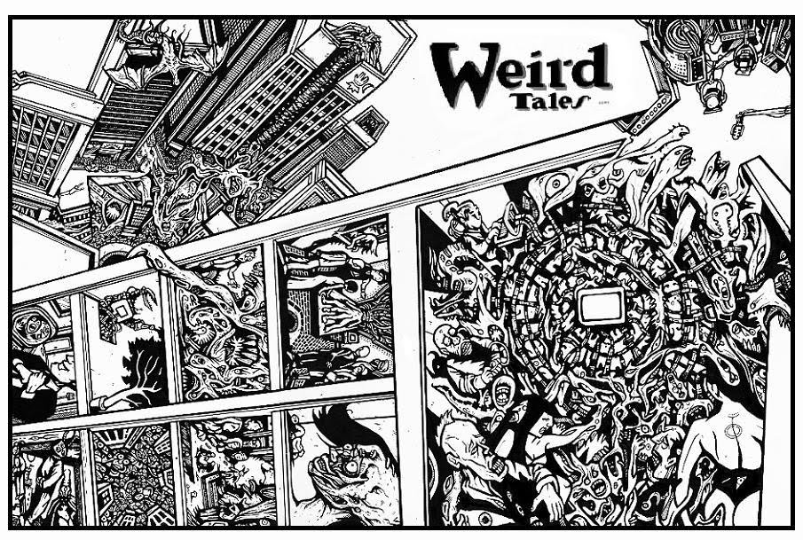 weird tales from a nightmare city