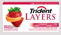 Trident Layers Wild Strawberry Tangy Citrus