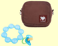 tote with baby items
