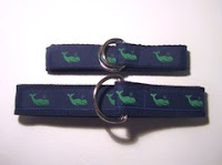 Chesapeake Ribbons Whale Belt