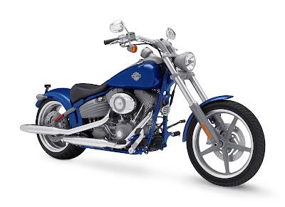 2009 Harley-Davidson FXCW Softail Rocker Front
