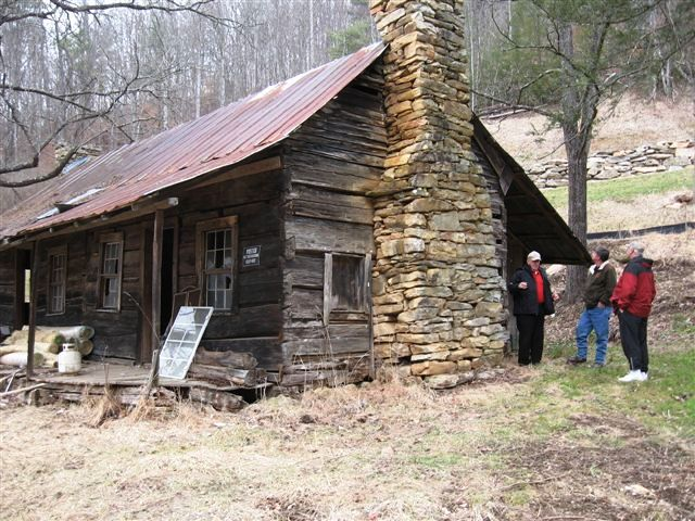 Mountain traditions nc blog extreme makeover on 1800s cabin for Ammons plumbing