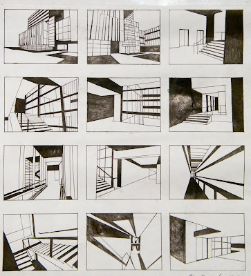 Architectural Communications Storyboarding Interior Architectural