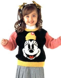 Шапка Минни Маус (Minnie Mouse) - Шапочки и панамки 884