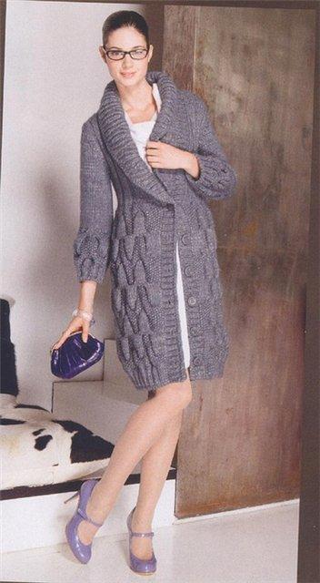 Вязаные пальто 2011