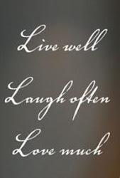 Glöm inte vad livet handlar om...