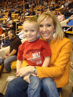 Lincoln and Mom 2008