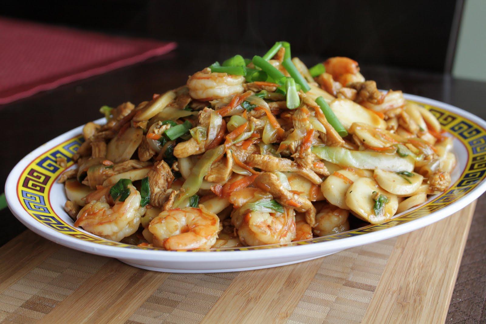 Stir Fried Chinese Sticky Rice Cakes (Nian Gao) Recipe (chao Nian Gao ...