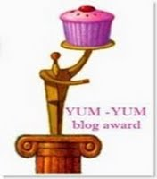 Yum- Yum Blog Award