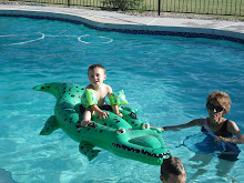 Brock on the Alligator