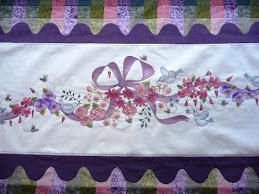 Birds & Bows Bed Topper