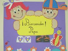Este cartel ha sido elaborado por mi amiga Elisa para mi clase.
