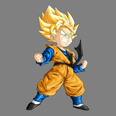 dragon ball z super saiyan goten. dragon ball gt goten.