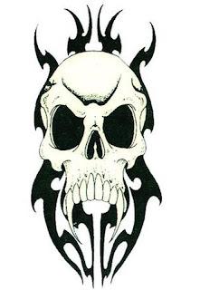 Gambar Tatto Tengkorak