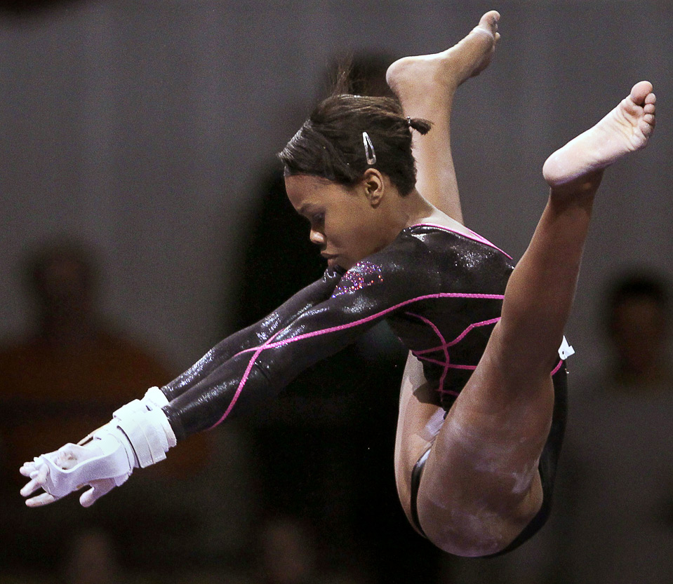 the naturally talented gabby douglas is moving to iowa gabby will be