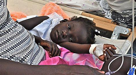Diarreas en niños de un año