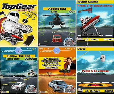 Top Gear - 240x320 Mobile Java Games