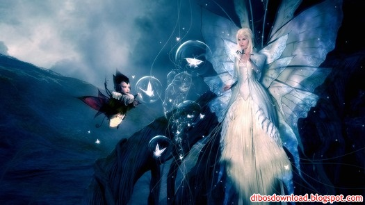 3d winged fairy sexy girl