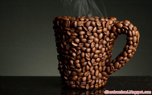 cup of coffee made from