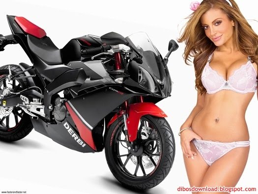 motorcycles and sexy girls underwear