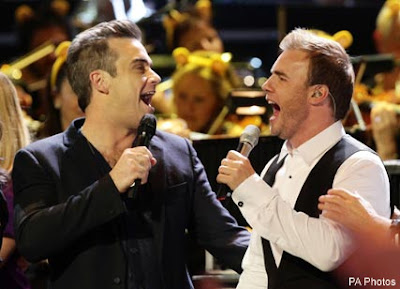 Robbie Williams & Gary Barlow - Shame